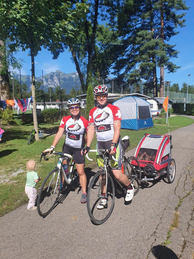 Cycling in Feldkirch Austria
