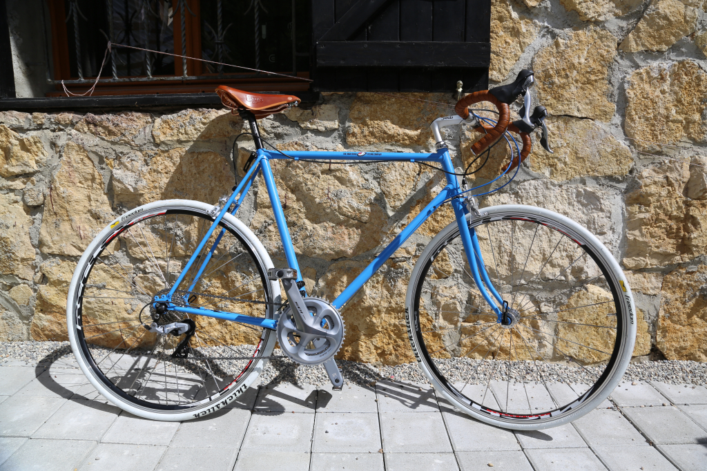 """Building a """"new"""" bike from an old frame"""