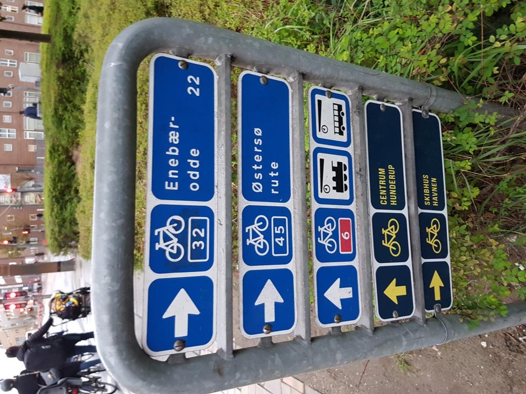 Denmark cycling trip